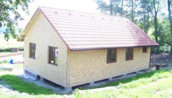 Dřevostavba k celoročnímu bydlení Habří 10 x 6M