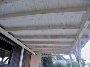 Dřevěná veranda 10 x 3 m k maringotce - Prachatice  5