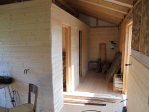 Dřevostavba 8 x 5 m s terasou  10