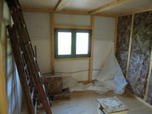 Dřevostavba 8 x 5 m s terasou  11