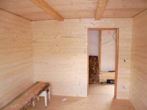 Dřevostavba 8 x 5 m s terasou  14