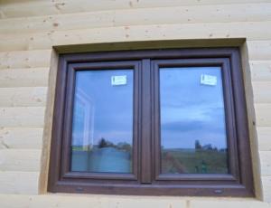 Dřevostavba 8 x 5 m s terasou  16