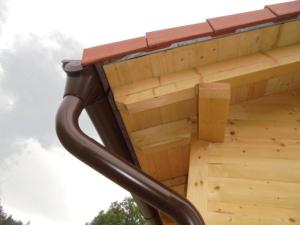 Dřevostavba 8 x 5 m s terasou  17