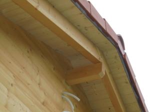 Dřevostavba 8 x 5 m s terasou  18