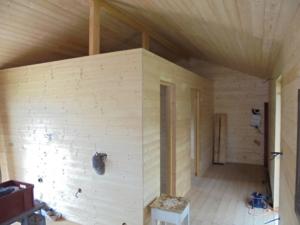Dřevostavba 8 x 5 m s terasou  20