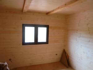 Dřevostavba 8 x 5 m s terasou  22