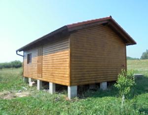 Dřevostavba 8 x 5 m s terasou  34
