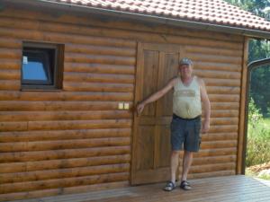 Dřevostavba 8 x 5 m s terasou  36
