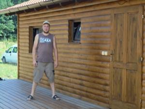 Dřevostavba 8 x 5 m s terasou  37