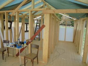 Dřevostavba 8 x 5 m s terasou  4