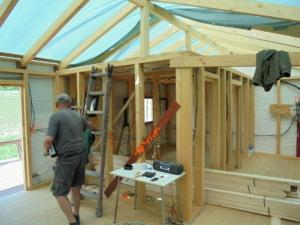 Dřevostavba 8 x 5 m s terasou  7