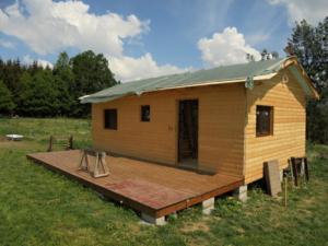 Dřevostavba 8 x 5 m s terasou  8