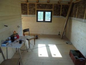 Dřevostavba 8 x 5 m s terasou  9